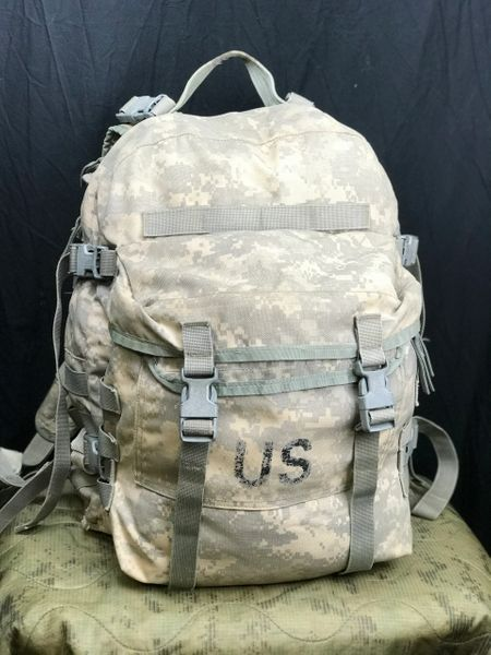 US MILITARY ISSUE MOLLE II ACU 3 DAY ASSAULT PACK | USED