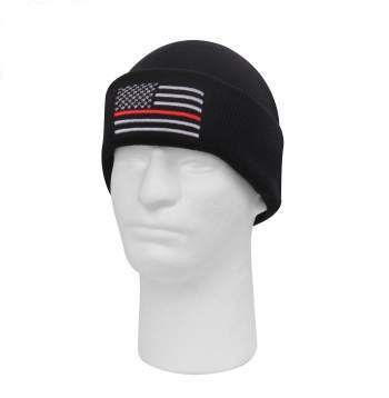Deluxe Thin Red Line Watch Cap | 5433