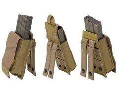 Eagle Industries 5.56 (AR-15/M4/M16) Single Magazine MOLLE Pouch w/Kydex Insert