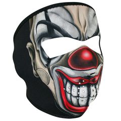 NEOPRENE FULL FACE MASK - CHICANO CLOWN