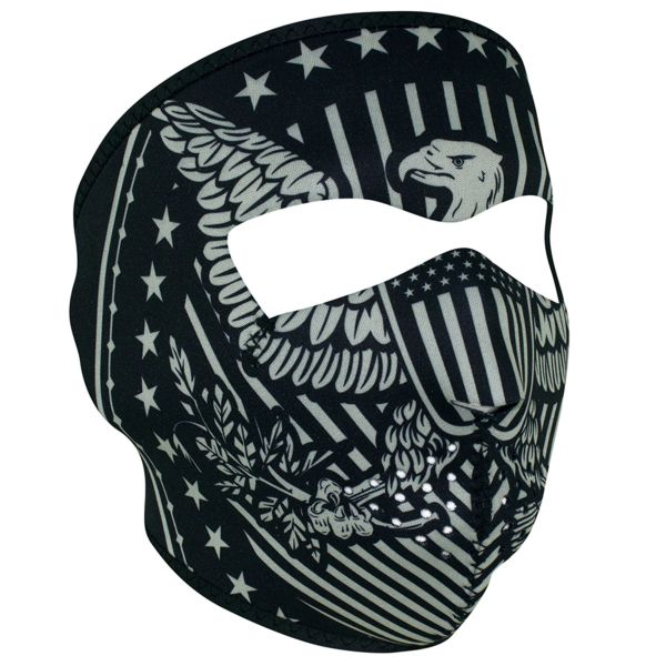 NEOPRENE FULL FACE MASK - VINTAGE EAGLE