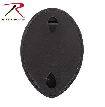 Rothco Leather Clip-On Badge Holder | 1131