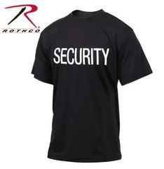 Rothco Quick Dry Performance Security T-Shirt | 66260