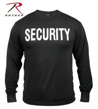 Rothco 2-Sided Security Long Sleeve T-Shirt | 60222