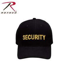 Rothco Security Supreme Low Profile Insignia Cap | 9284