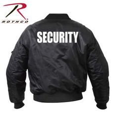 Rothco MA-1 Flight Jacket With Security Print | 7357
