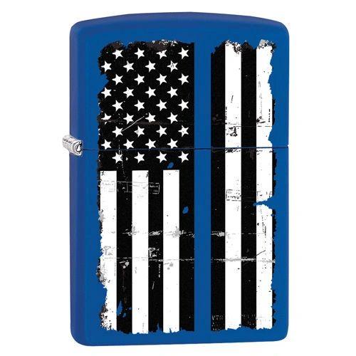 Zippo Lighter POLICE / THIN BLUE LINE   86-05482