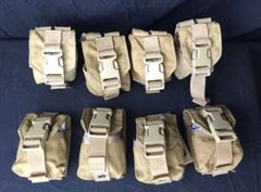 LOT OF 8 - USMC Military Surplus - Eagle MOLLE II 500D Multi Purpose Pouch