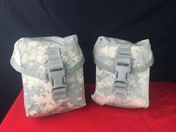 IFAK Pouch - ACU INDIVIDUAL FIRST AID KIT (IFAK) POUCH - LOT OF 2 | USED