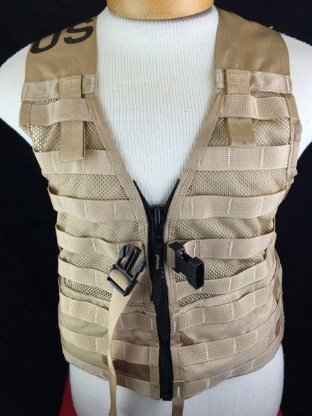 NEW MOLLE II Fighting Load Carrier Vest | Desert Camo