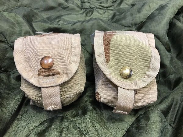 MOLLE II Multi-Purpose Pouch | DCU 3-Color Desert Camo | 8465-01-491-7431 | LOT OF 2