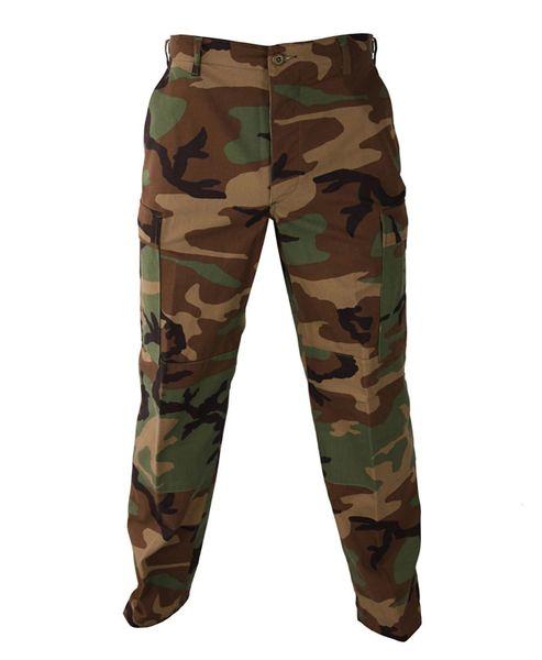 BDU Camo Tactical Military Pants Propper Zipper Fly 60/40 Ripstop