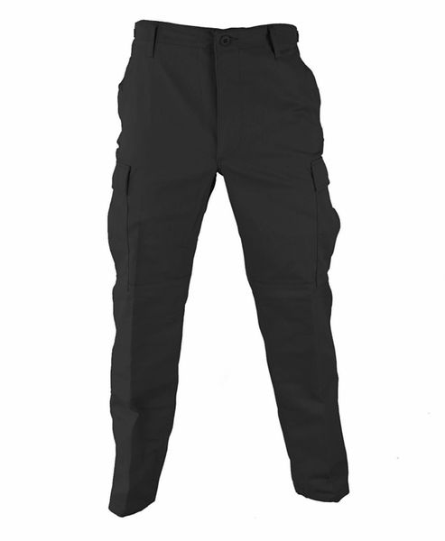 Black BDU Tactical Military Pants Propper Genuine Gear Zipper Fly 60/40 Ripstop
