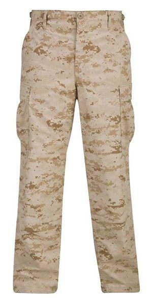 Digital Desert BDU Military Pants Propper Genuine Gear Zipper Fly 60/40 Ripstop
