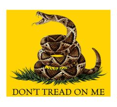 Don't Tread on Me Fleece Blanket | MM103-TB