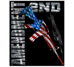 2ND Amendment Fleece Blanket | RN2193-TB