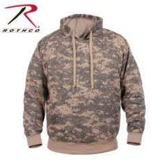 ACU Digital Camo Pullover Hooded Sweatshirt | 6595