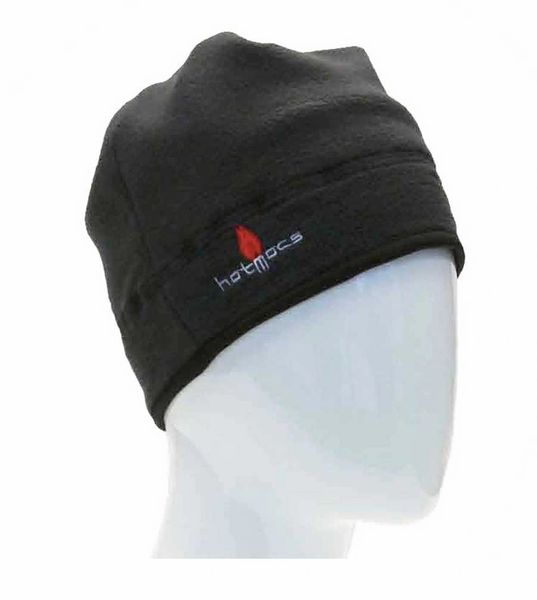 HOTMOCS FLEECE BEANIES WITH HEATPACK POCKETS | CHARCOAL GREY