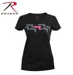 Women's ''Pink Guns'' T-Shirt