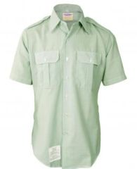 Mens Army Class A Short Sleeve Dress Shirt