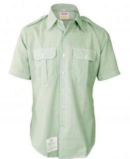 Mens Army Class A Short Sleeve Dress Shirt