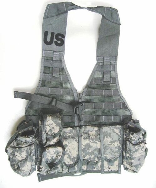 MOLLE Core Rifleman Set, NSN 8465-01-525-0578 (ACU Pattern) | USED