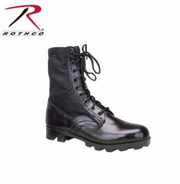 Rothco Classic Military Jungle Boots | Black | 5081