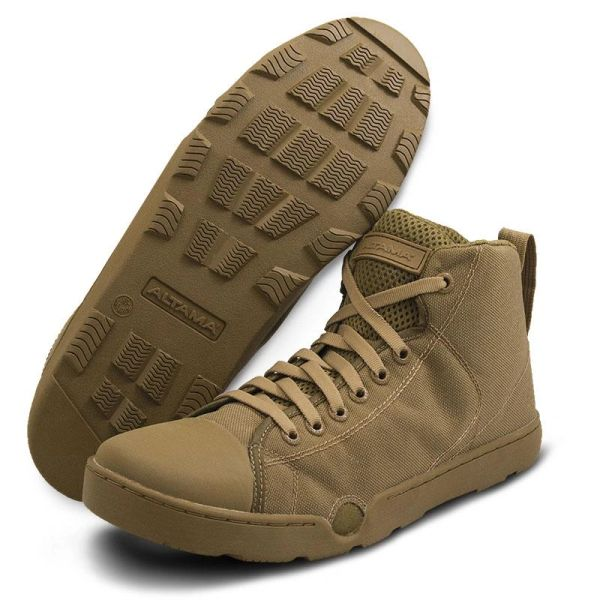 ALTAMA MARITIME ASSAULT BOOTS - MID | Coyote Brown | 333003