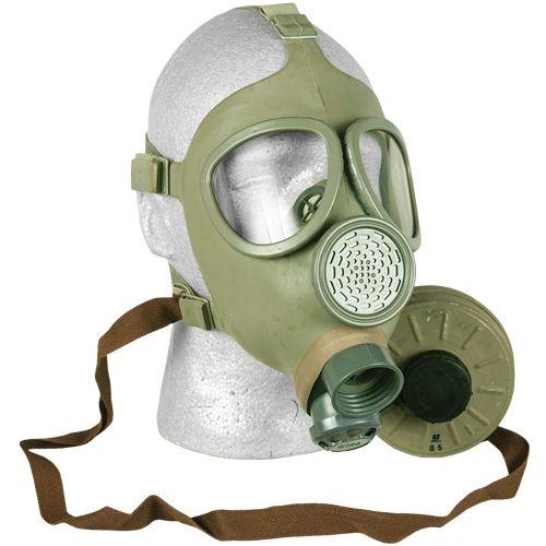 Gasmask - Czech Gas Mask w/ Filter - CM4 - Unissued