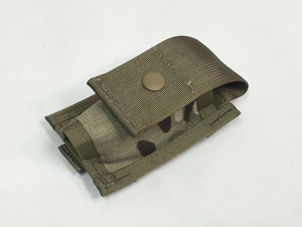 MOLLE 40mm High-Explosive (HE) Single-Grenade Pouch, RFI Issue, MultiCam (OCP)