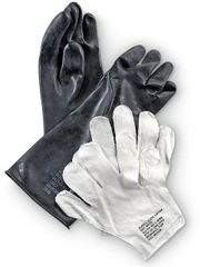 CHEMICAL PROTECTIVE GLOVES SET | MEDIUM