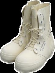 Bata USGI White Mickey Mouse Bunny Boots w/ Valve   11 R