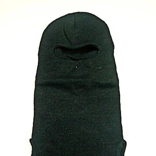 Military Issue Black Wool Balaclava