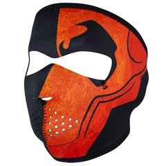 MERC WNFM026 MASK Motorcycle Biker Ski Neoprene FULL Face Mask Reversible