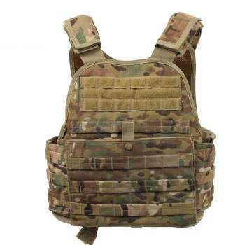 MultiCam MOLLE Plate Carrier Vest