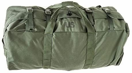 Improved Duffel Bag, OD Green, USGI Issue | Used