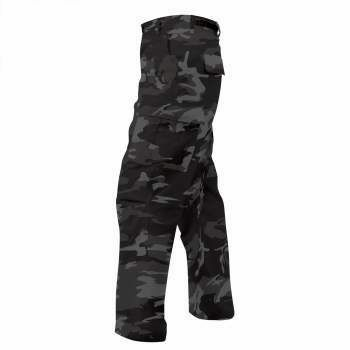 Black Camo Tactical BDU Pants