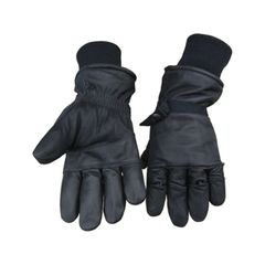 US Intermediate Mil-Spec Cold/Wet Weather Leather Gloves Size Extra Large NSN: 8415-01-319-5116