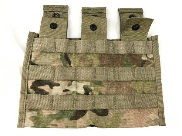 MOLLE 3-Magazine Pouch (Shingle type), 5.56mm, M16/M4, MultiCam (OCP)