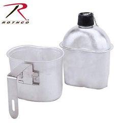 Rothco G.I. Style Aluminum Canteen | 1 Quart