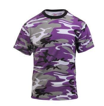 PURPLE ULTRA VIOLET CAMO T-SHIRT