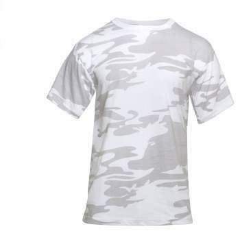 WHITE CAMO T-SHIRT