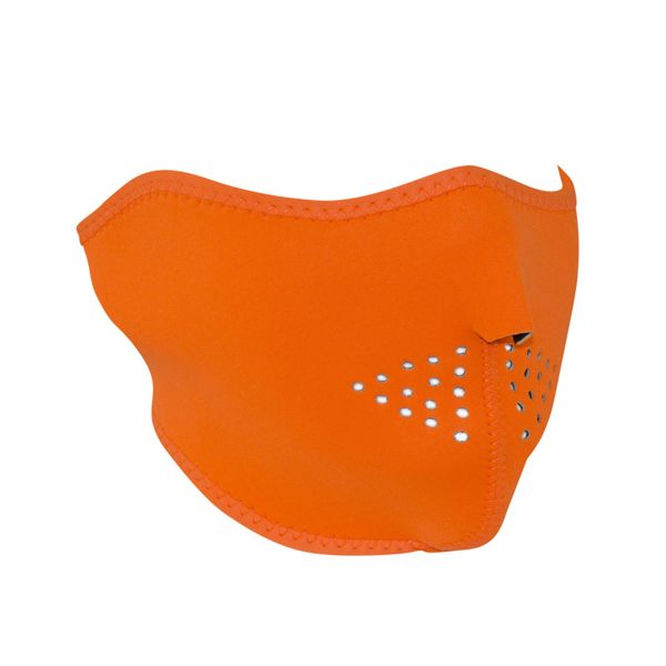 NEOPRENE HALF FACE MASK | HIGH-VISIBILITY ORANGE | WNFM142H