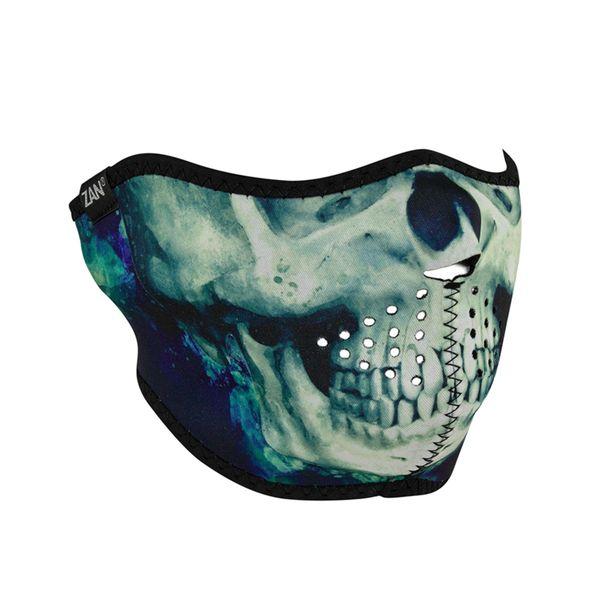 Neoprene Half Face Mask | PAINT SKULL | WNFM414H