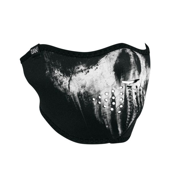 Neoprene Half Face Mask | Skull Ghost | WNFM409H