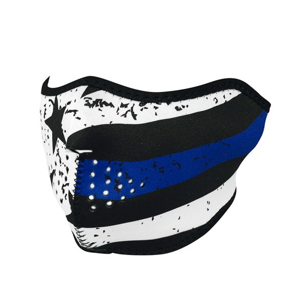 Neoprene Half Face Mask | Thin Blue Line | WNFM171H