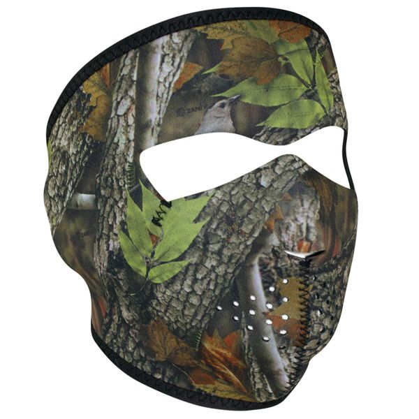 NEOPRENE FULL FACE MASK | FOREST CAMO | WNFM238