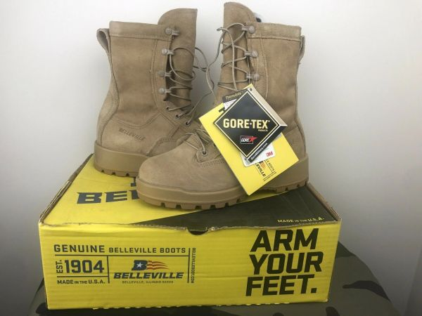 Belleville 775 Cold Weather 600g Insulated Waterproof Desert Boot | 5.5R | New