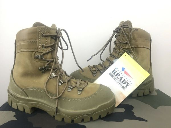Men's Belleville 950 US Mountain Combat Hiker Boot 4 XW