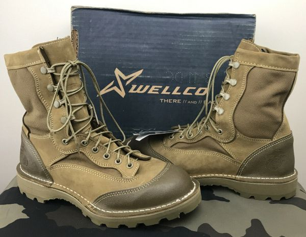 Wellco E163 - Mojave USMC RAT Temperate Weather Combat Boots GORETEX 9 Reg NEW